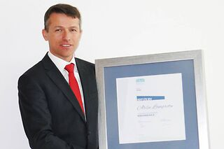 "Ales Lampret, ""Logistics Manager of the Year 2014"""